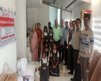 Grocery Distribution at Swami Vivekananda Kendra,  Trimbakeshwar, Nashik